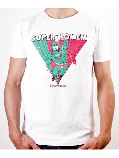 T-SHIRT SUPER HOMEM