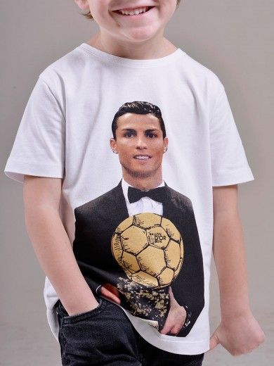 T-shirt Ballon d'or KID